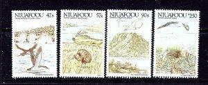 Tonga-Niuafoou 99-102 MNH 1988 Birds