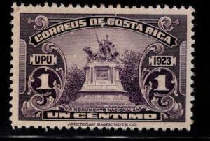 Costa Rica Scott 117 MH* stamp