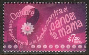 MEXICO 3066, FIGHT BREAST CANCER. MINT, NH. VF.