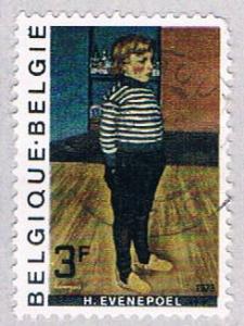 Belgium 857 Used Painting (BP1683)