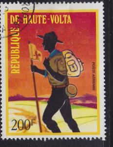 Burkina Faso C163 Boy Scout Hiking 1973
