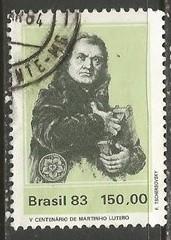 BRAZIL 1850 VFU I566-4