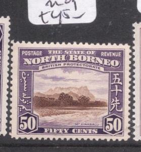 North Borneo SG 314 MOG (2dnn)