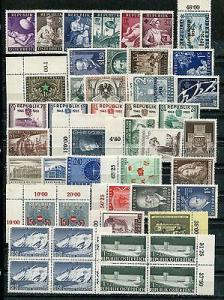 Austria  Mint VF and 95% NH  collection
