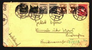 Slovakia 1941 Censor Cover / Children's KLV Camp - Z14165