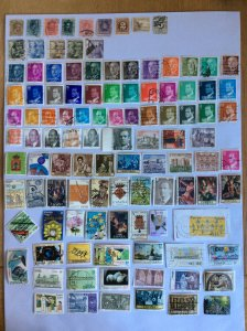 Spain 100+ stamps - Lot E