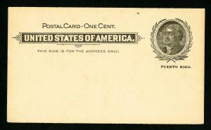 US Stamps # ux3 XF Mint Postal Card Catalog Value $150.00