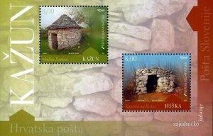 Croatia Stamp Sc#743 - (2009) -S/Sheet - Kazun & Hiska