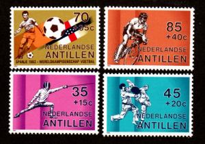 Netherlands Antilles B196-B199 Mint NH MNH!