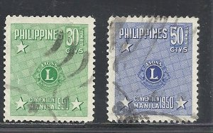 Philippines #C71-2 comp used cv $1.05 Rotary