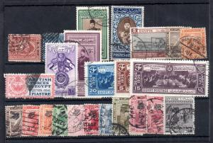 Egypt fine used unresearched collection x 24V  WS11800