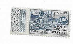Guadaloupe #141 Used - Stamp - CAT VALUE $4.75