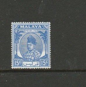 Malaya Perlis 1951/5 15c MM SG 17