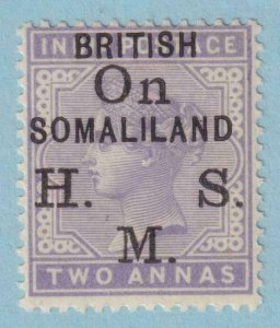 SOMALILAND PROTECTORATE O3 OFFICIAL MINT LIGHT HINGED OG * NO FAULTS VERY FINE!