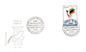 Finland, Birds, Worldwide First Day Cover