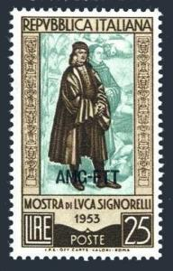 Italy Trieste Zone A 186,MNH.Michel 218. Luca Signorelli,painter,1953.