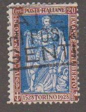 Italy 201 Emmanuel Philibert, Duke of Savoy 1928