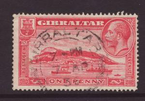 1931 Gibraltar 1d Perf 14 Good/Fine Used