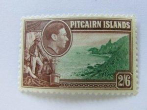 1940 Pitcairn Islands SC #8 KGVI  MH stamp