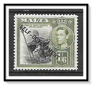 Malta #218 Self-Government Issue MH