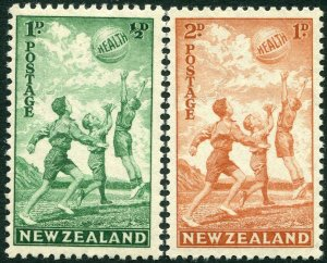 NEW ZEALAND-1940 Health Stamps Sg 626/627 LIGHTLY MOUNTED MINT V36160