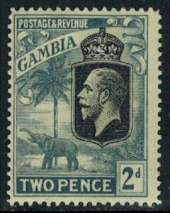 Gambia Scott 105 Mint never hinged.