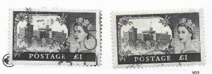 Great Britain #374 Used - Stamp - CAT VALUE $8.00 PICK ONE
