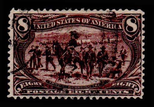 U.S. TRANS-MISS. ISSUE 289  Used (ID # 66762)