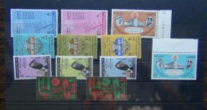 Kuwait 1962 1966  Telecoms School Postal Union Mothers Day Traffic Day sets MM