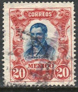 MEXICO-Monterrey 430VAR TII 20¢ GOB. REV PROV OVPT CONSTIT.. USED VF (1181)