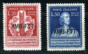 ITALY TRIESTE  SCOTT#53/54, SASSONE #52/53  MINT  NH