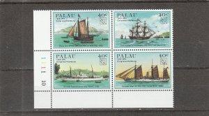 Palau  Scott#  54a  MNH Block of 4  (1984 UPU Congress)