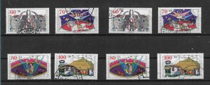 Germany used  1989  Youth SET 2 x complete high cat val