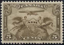 Canada USC #C1 Mint VF-NH 1928 5c Airmail - Cat. $50.00