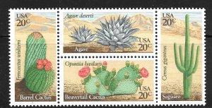 USA 1942-1945: 20c Desert Plants, MNH, VF
