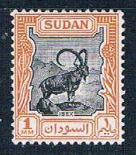 Sudan 98 MLH Nubian Ibex 1951 (S0857)+