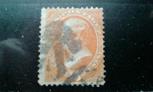 US #163 used e195.4379