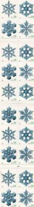 39c Snowflakes Booklet, Sc #4112/Bk 303, MNH (10017)