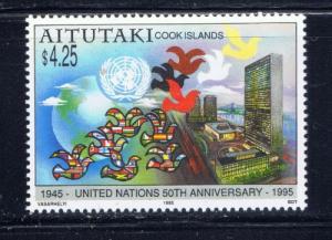 Aitutaki 512 NH 1995 U.S. Anniv