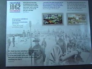 U.S.# 4664-4665-(4665a)MINT/NH-- PANE OF 12-CIVIL WAR SESQUICENTENNIAL--2012