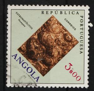Angola 1970 Fossils and Minerals 3$ (1/12) USED