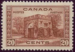 Canada - #243 Mint 1938 20c Fort Garry VF-NH - A Beauty!