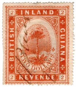 (I.B) British Guiana Revenue : Inland Revenue $2
