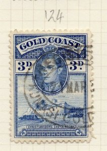 Gold Coast 1938 Early Issue Fine Used 3d. 284278