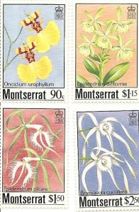 Montserrat 554-557 MNH