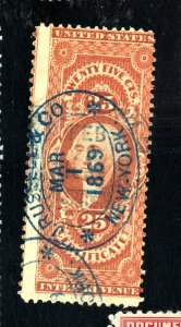 R44C USED DOUBLE DATE CANCELS FVF