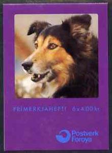 Booklet - Faroe Islands 1994 Sheepdogs 24k booklet comple...
