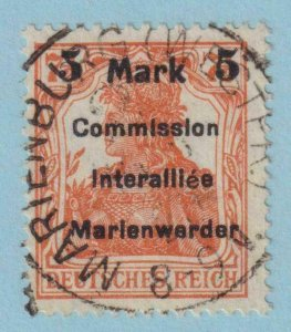 MARIENWERDER 35  USED -  NO FAULTS EXTRA FINE!