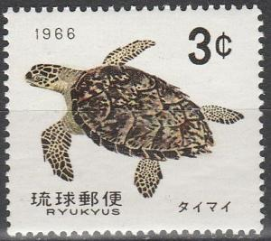 Ryuku Is #137 MNH F-VF (V244)