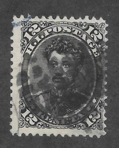 HAWAII Scott #36 Used 12c 2018 CV $32.50